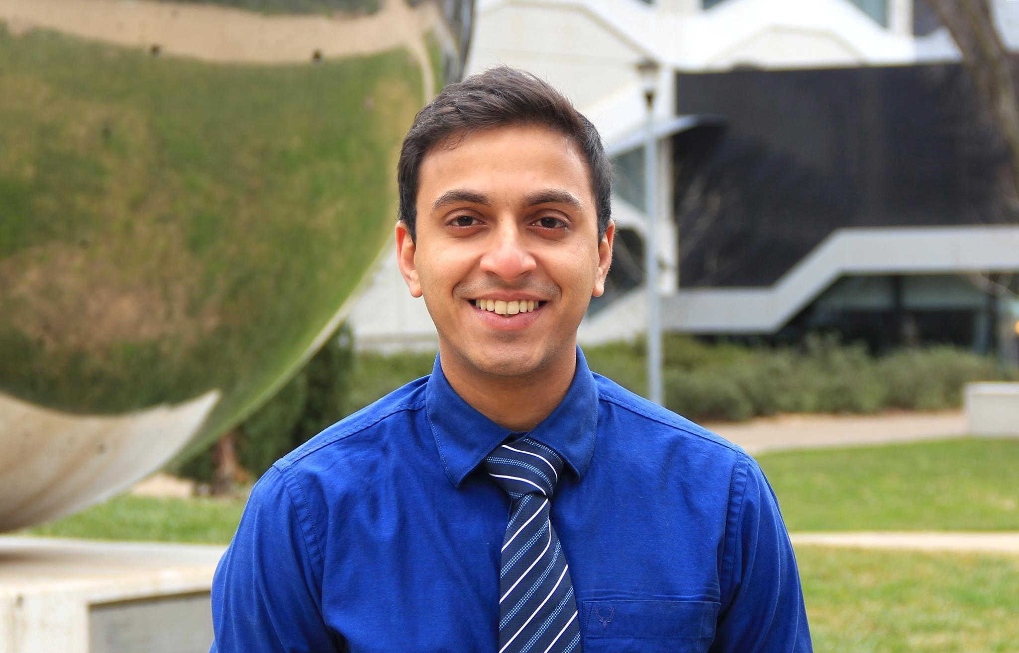 Akeel Feroz; International Officer (2016-17)